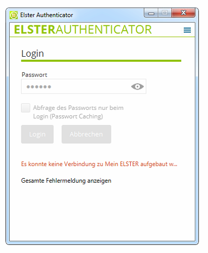 LoginElsterAuthenticatorError