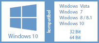 Windows kompatibel hor transp